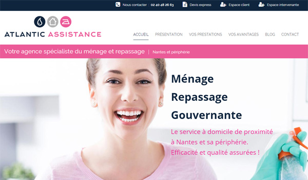 Nouveau site web Atlantic Assistance